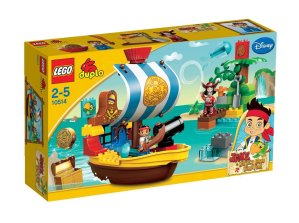 Lego Duplo Jake Piratenschiff Bucky