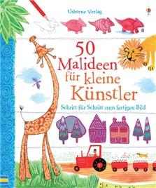 50 Malideen für kleine Künstler