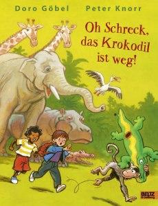 Oh Schreck, das Krokodil ist weg