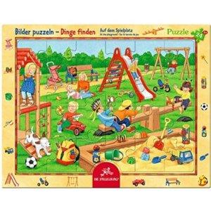 Auf dem Spielplatz Puzzle