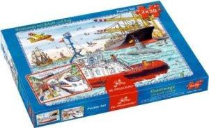 Unterwegs mit Schiff und Zug