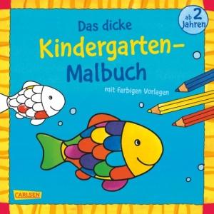 Das dicke Kindergarten-Malbuch von Carlsen