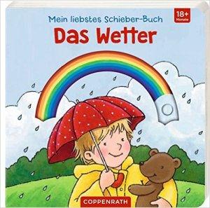 Das Wetter - mein liebstes Schieber-Buch erschienen bei Coppenrath