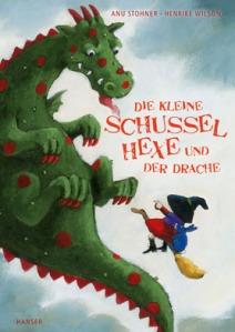 Die kleine Schussel Hexe und der Drache von Anu Stohner und Henrike Wilson erschienen bei Hanser