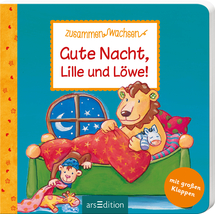 Gute Nacht, Lille und Löwe Ars Edition