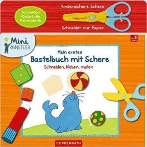 Mein erstes Bastelbuch mit Schere erschienen bei Coppenrath