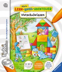 Mein Lern-Spiel-Abenteuer Vorschulwissen erschienen bei Ravensburger