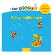 Schwungübungen mit der Lernraupe von Ars Edition