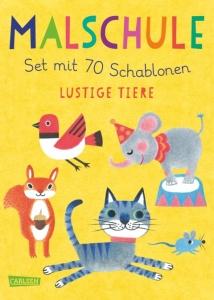 malschule-lustige-tiere-set-mit-70-schablonen-erschienen-bei-carlsen