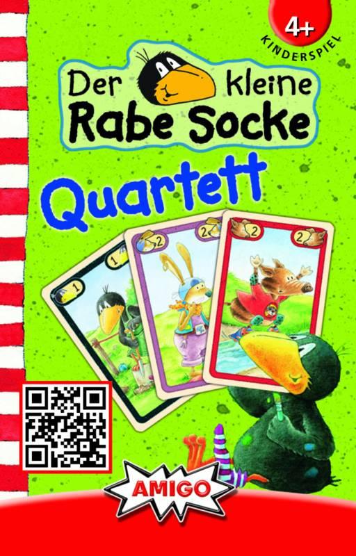 AMIGO Der kleine Rabe Socke Mau Mau Kartenspiel NEU NEW