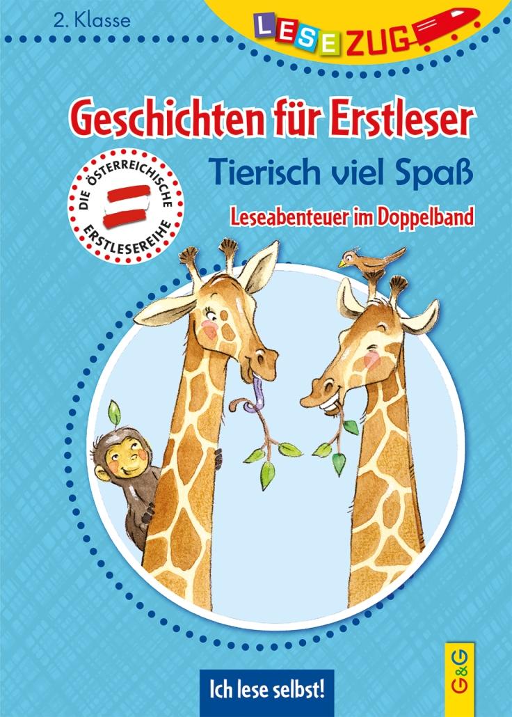 Cover_LZ2_Geschichten fuer Erstleser_Tierisch viel Spass.indd